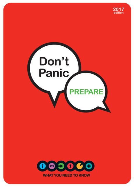 don u0026 39 t panic  prepare booklet