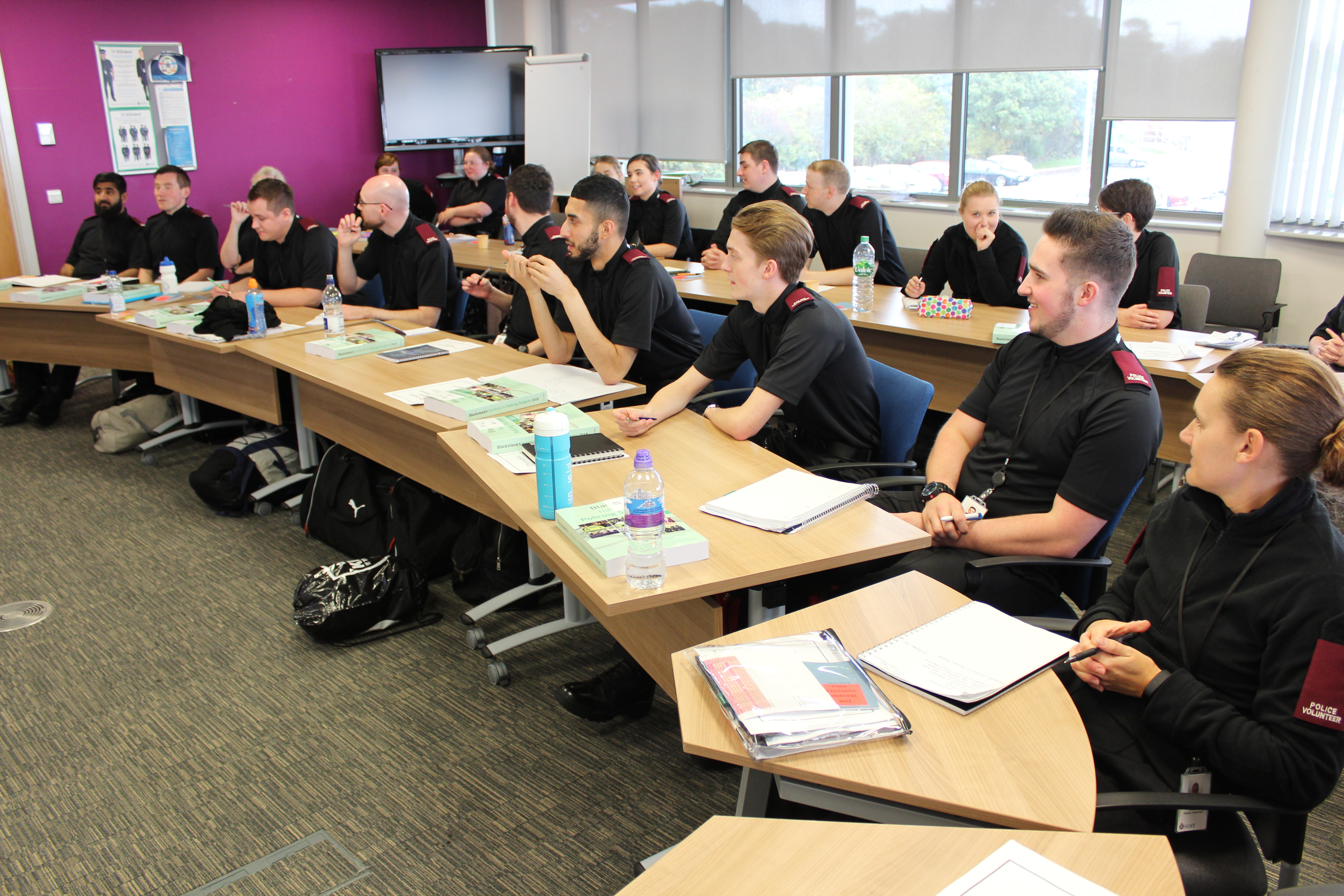 Special Constables Induction Training - in classroom