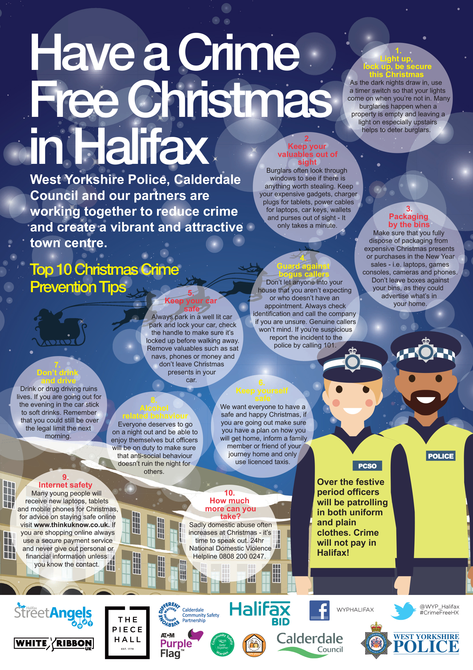 CD Christmas Crime Prevention