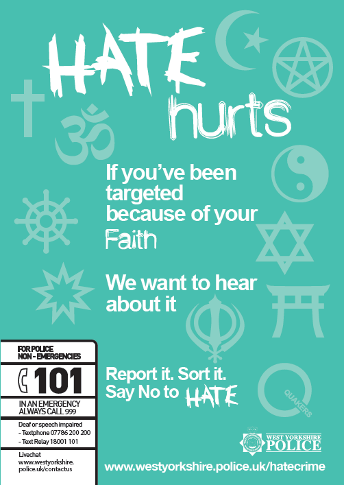 Poster Faith Hate
