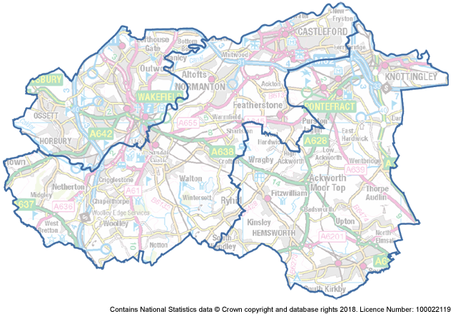 Wakefield Policing District