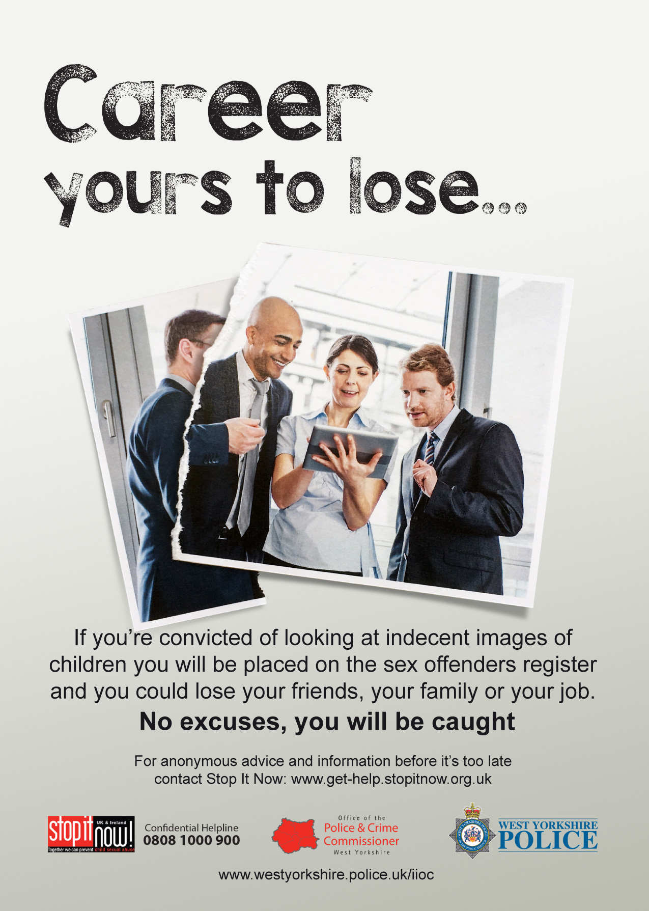 Indecent Images of Children Campaign - Career