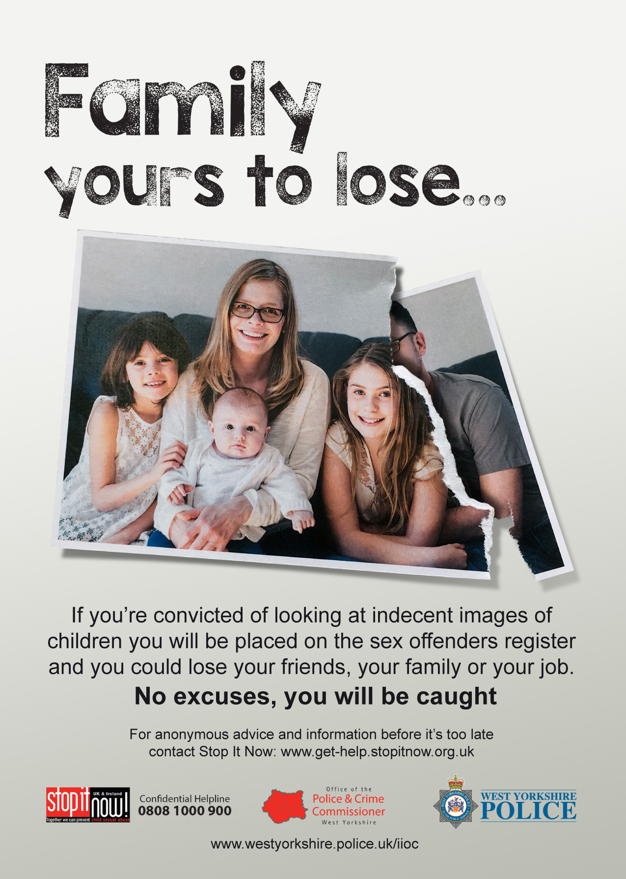 Indecent Images of Children Campaign - Family