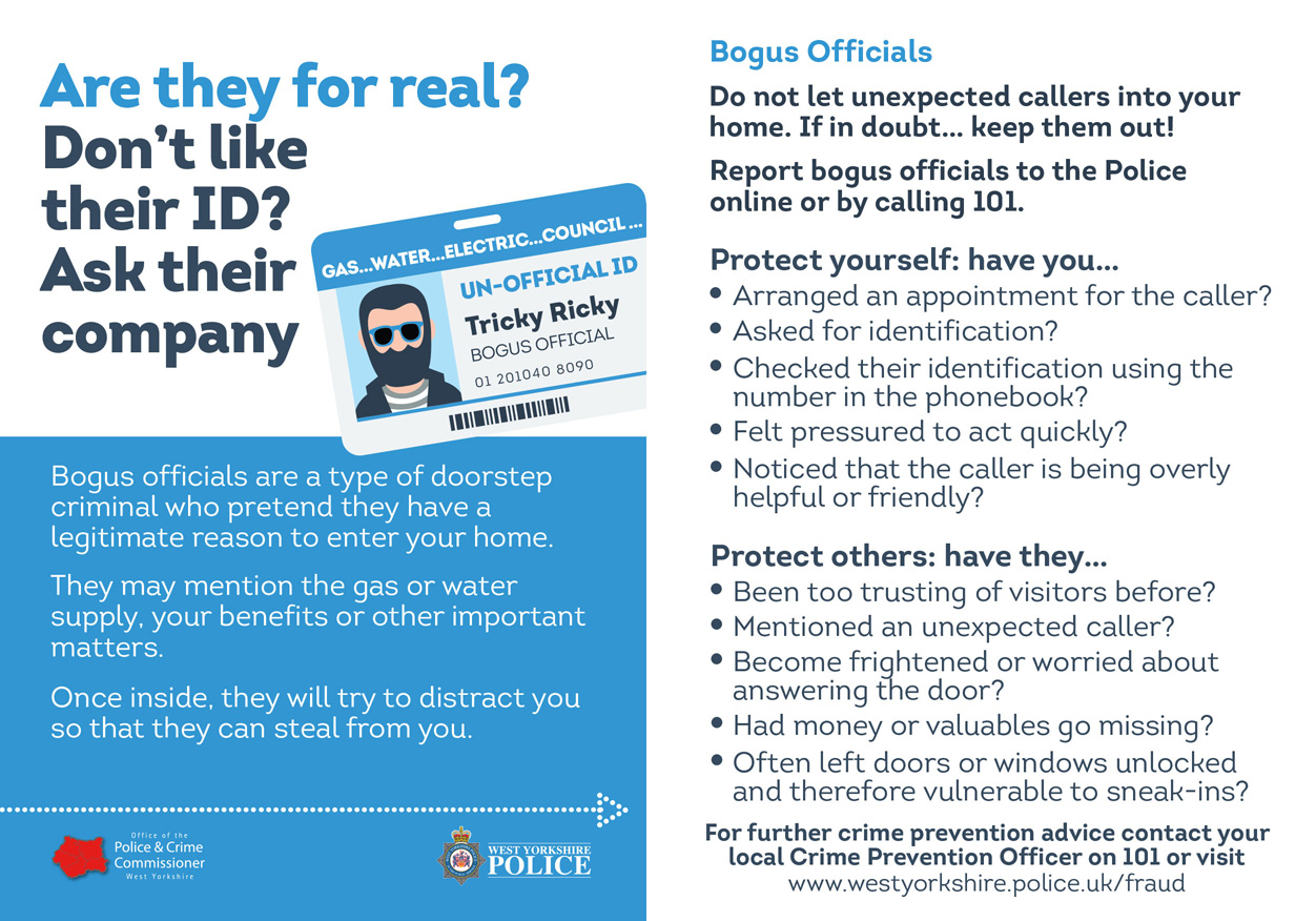Fraud Cards - Bogus Officials
