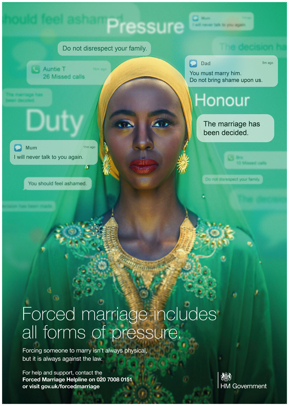 Forced Marriage Poster 1