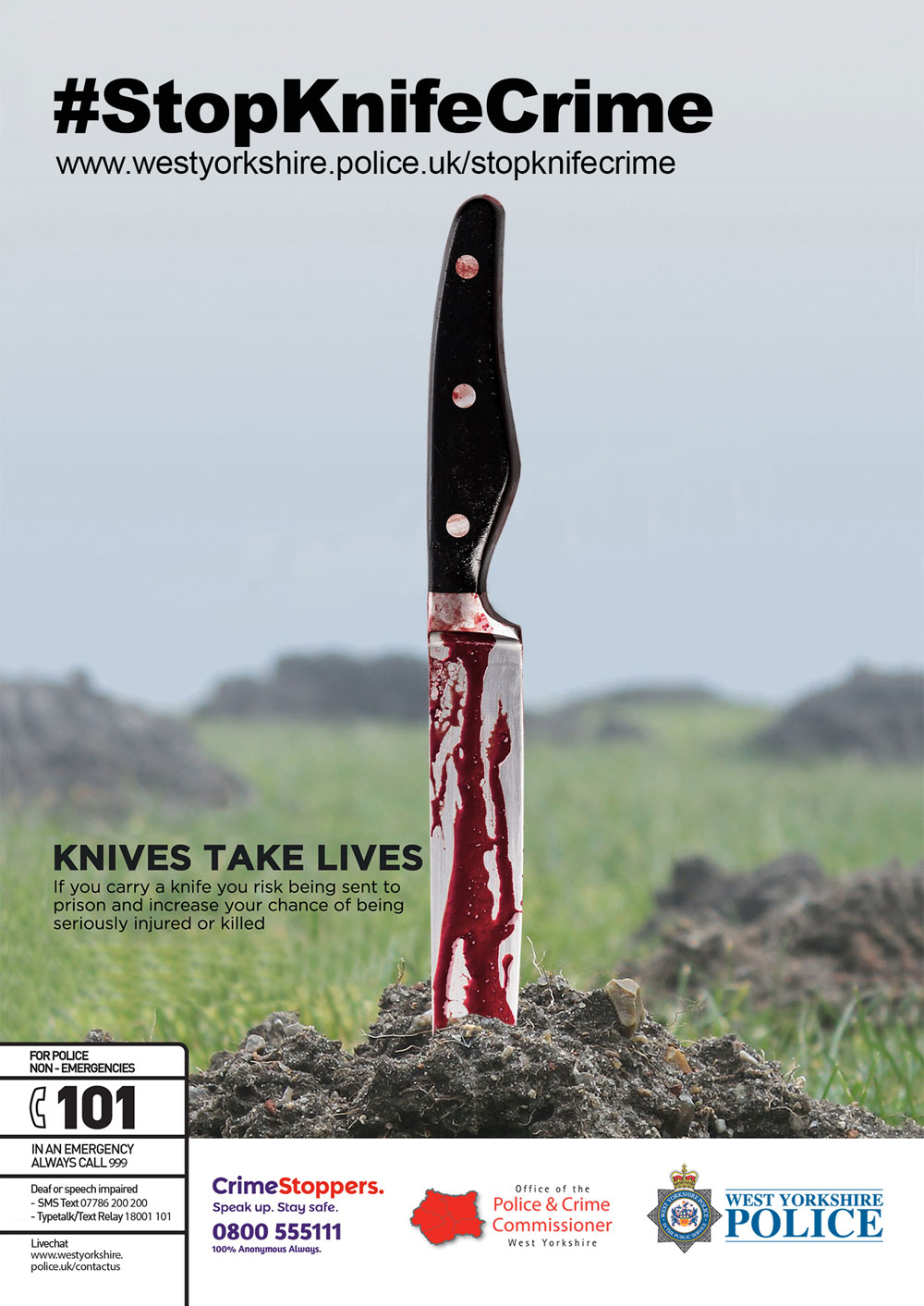 Stop Knife Crime West Yorkshire Police