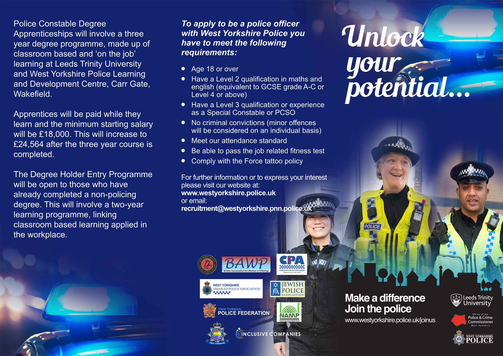 Police Officers | West Yorkshire Police