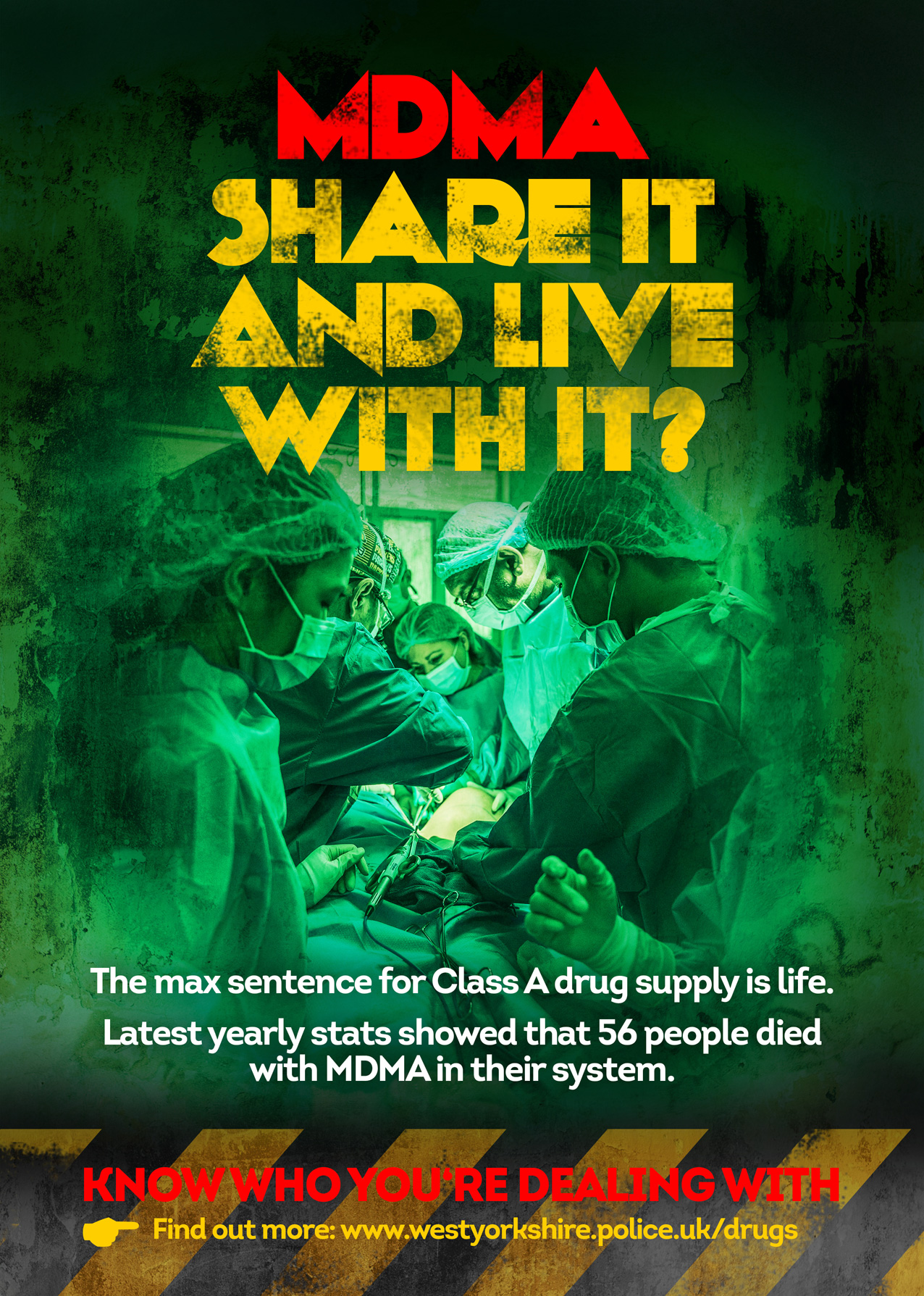 MDMA Share It And Live With It? Poster