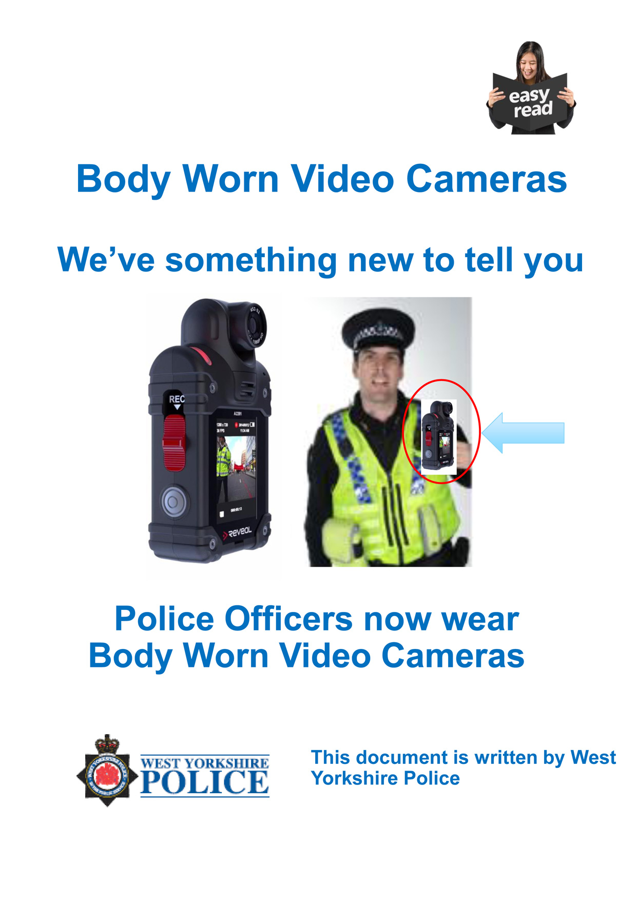 Easy Read - body worn video (PDF)