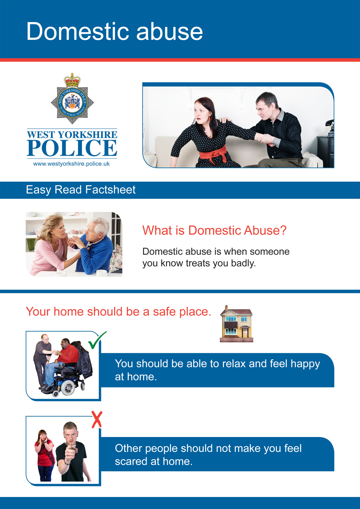 Easy Read - Domestic Violence (PDF)