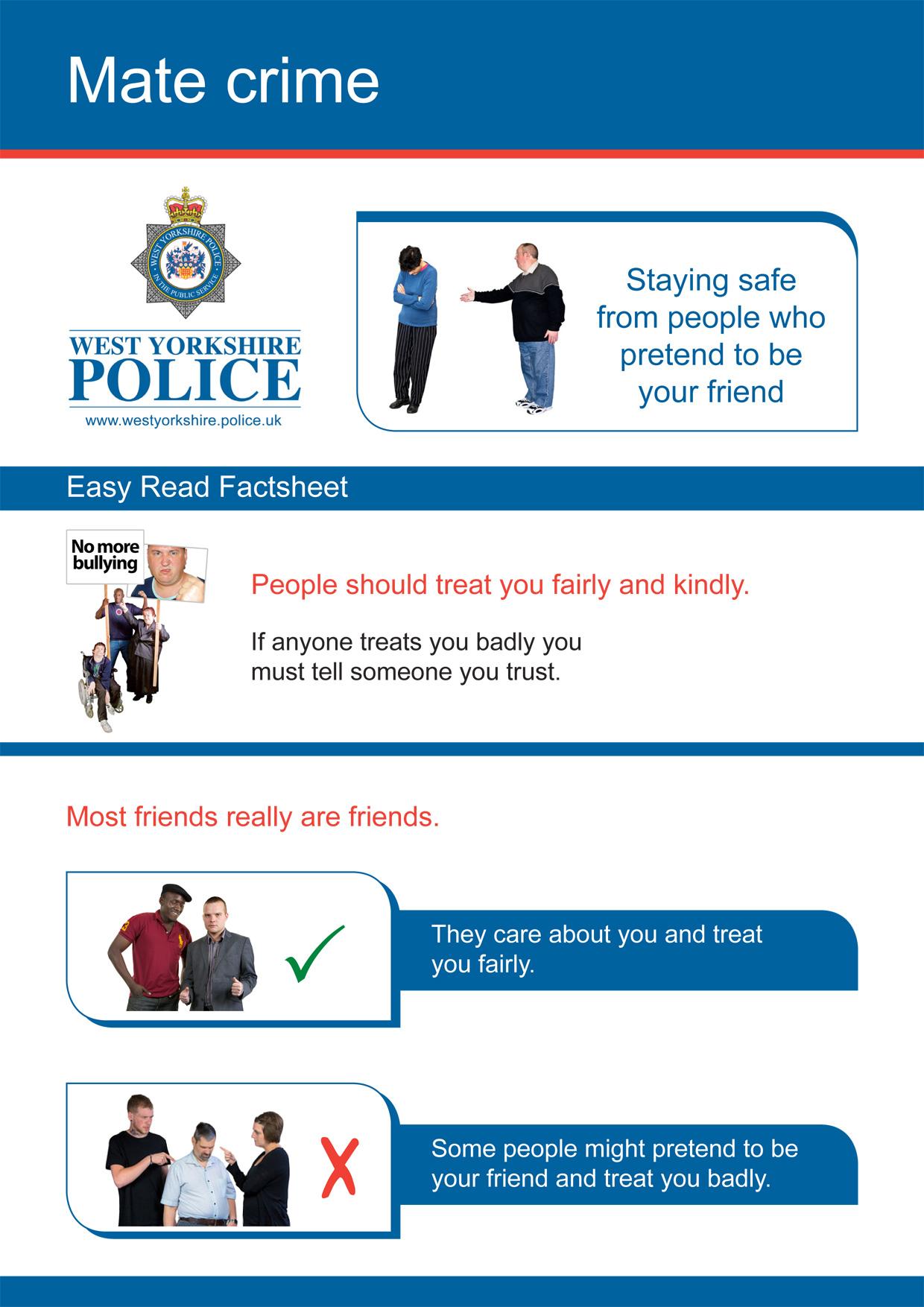 Easy Read - Mate Crime (PDF)