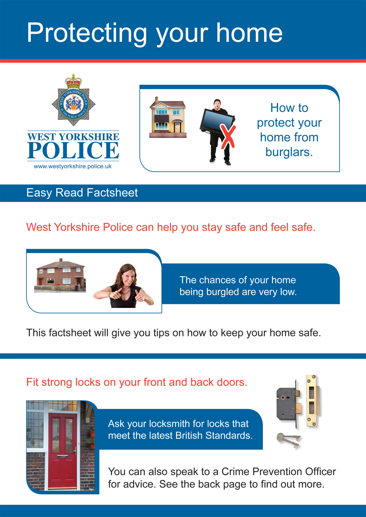 Easy Read - Protecting your home (PDF)