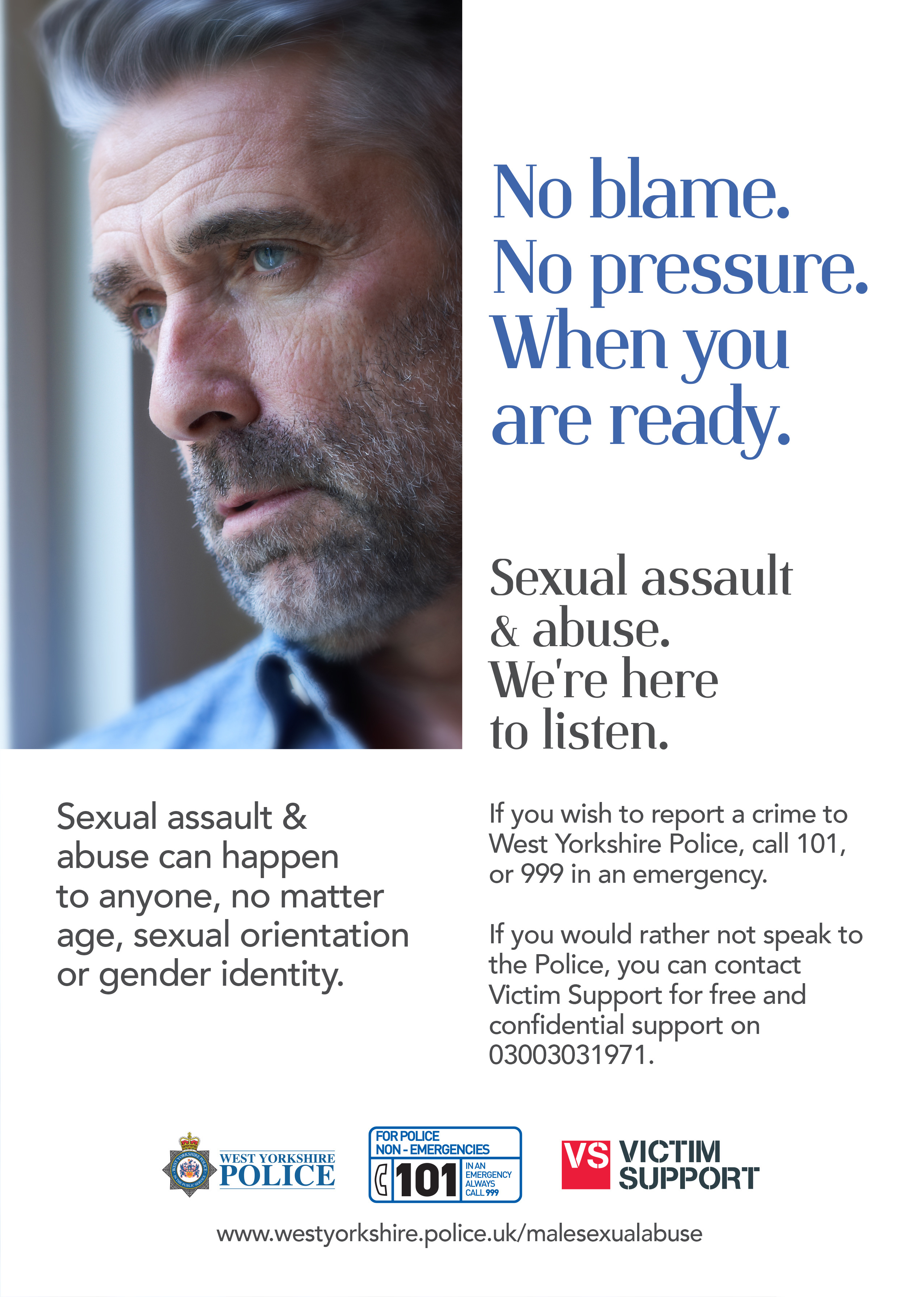 Male Victim Sexual Abuse Campaign - Poster 4