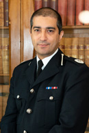 Temporary Assistant Chief Constable Osman Khan