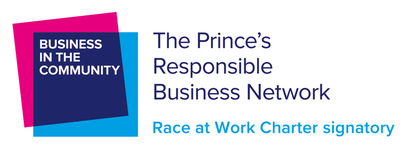 Business in the Community Race at Work Charter logo