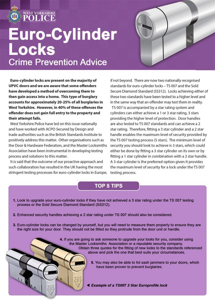 crime prevention advice leaflets