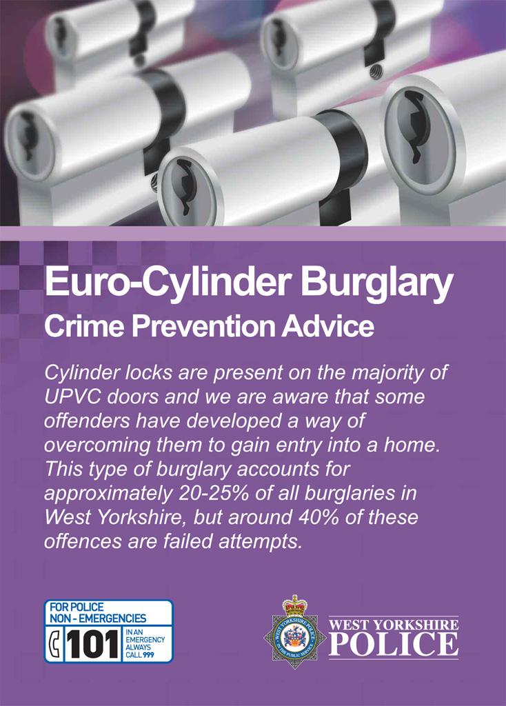 Euro-Cylinder Burglary Poster