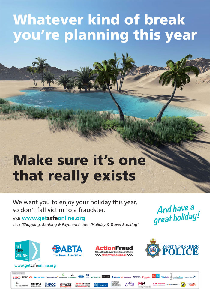 Holiday Fraud Poster