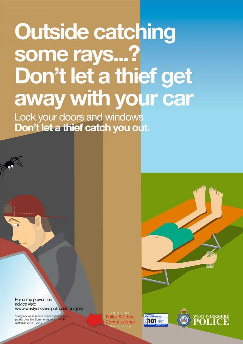Spring Summer 2016 Anti Sneak In Burglary Campaign