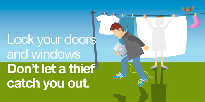 Burglary Spring Campaign