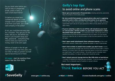 Get Safe Online Leaflet