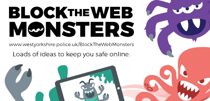 Block The Web Monsters