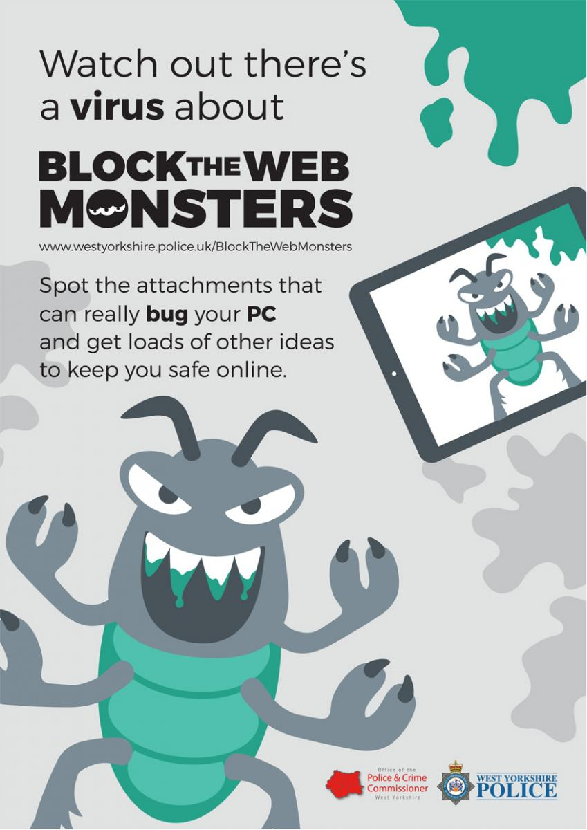 Block the Web Monsters - Cyber Crime | West Yorkshire Police