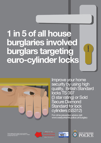 Autumn Winter 2015 Anti Burglary Campaign - Euro Lock Poster