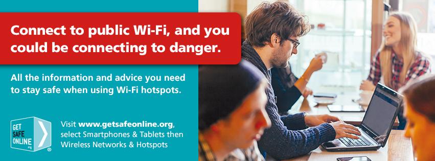Get Safe Online - Dangers of Public WIFI