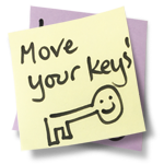 Move your keys!