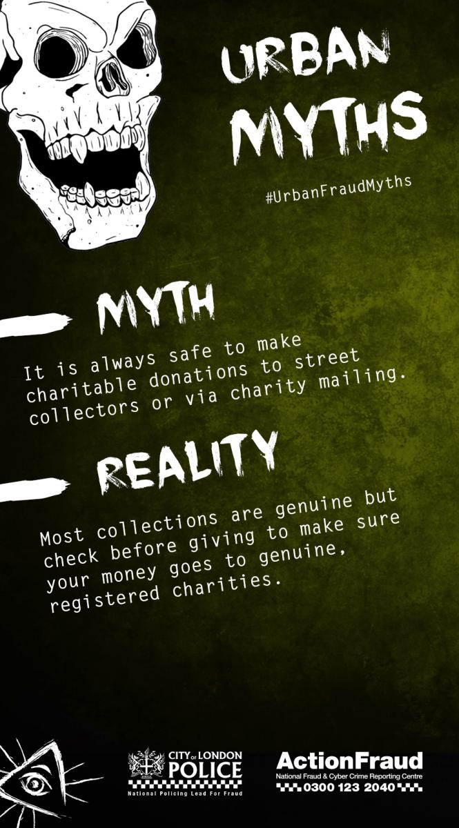 Myth 13 (Charity Fraud)