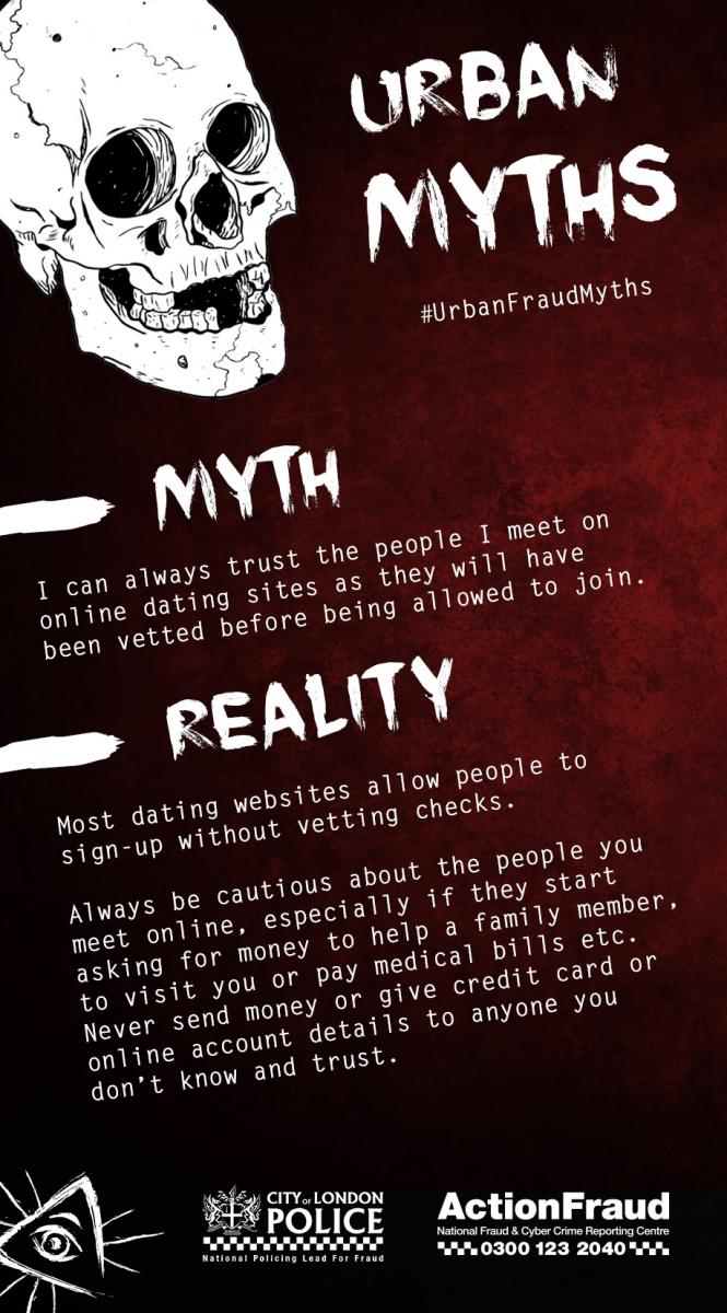 Myth 1 (Dating Fraud)
