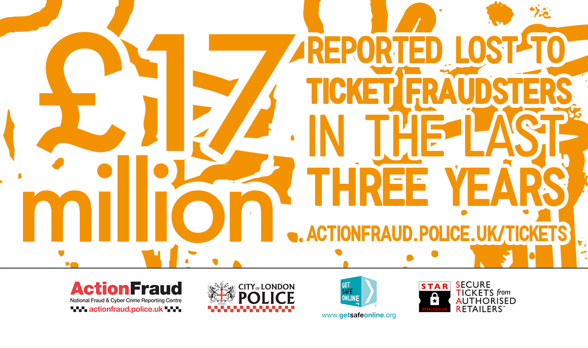 Ticket Fraud West Yorkshire Police