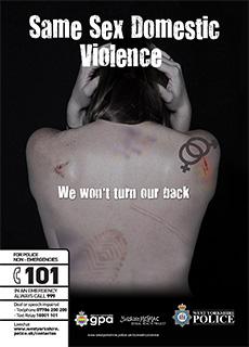 Same Sex Domestic Abuse Campaign