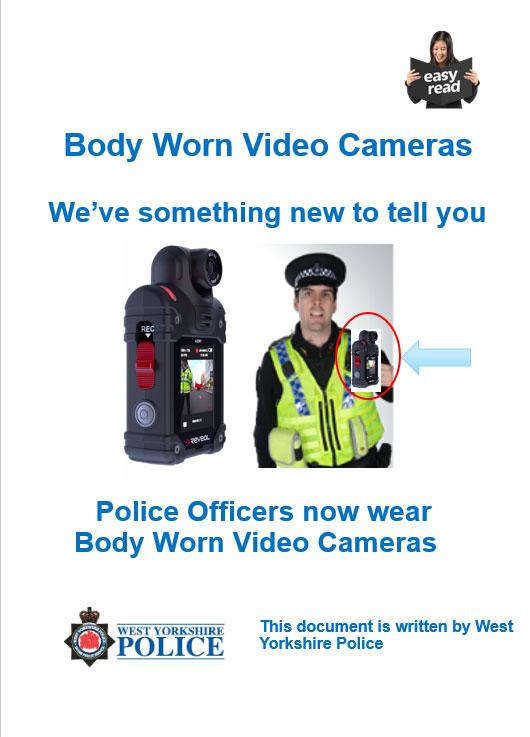 Easy Read - Body Worn Cameras