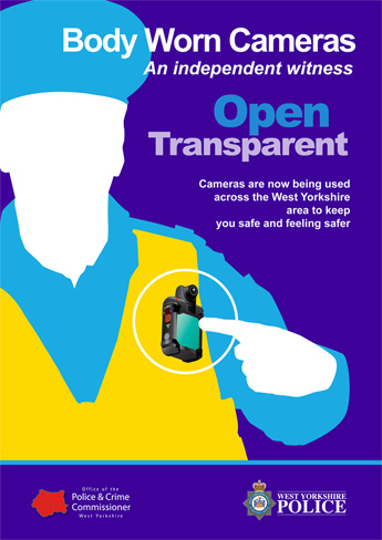 Body Worn Video Cameras Poster 2