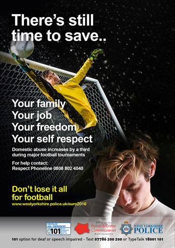 Euro 2016 - There's Still Time To Save (poster)