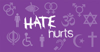 Click here for information about hate crime and how to report it.