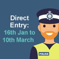 Direct Entry - 16th January to 10th March