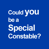 Could you be a Special Constable?