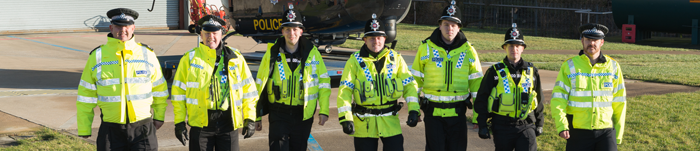 Special Constables at Carr Gate Training / Air Ops NPAS Facility