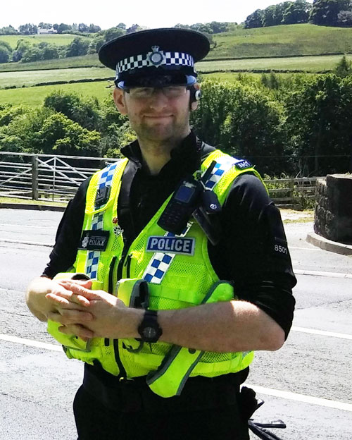 PC Russell Mogford