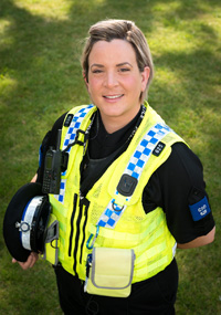 Read all about 'tweeting PCSO' Sarah Barberini