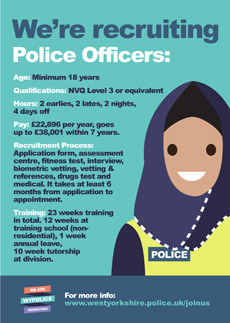 Recruitment Poster - Police Officers