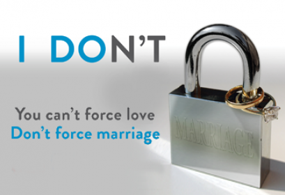 Forced Marriage campaign