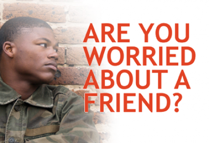 Are you Worried About a Friend? Child Sexual Exploitation Campaign