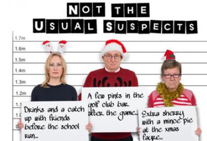 """Not The Usual Suspects"" - Festive Drink Drive Campaign"