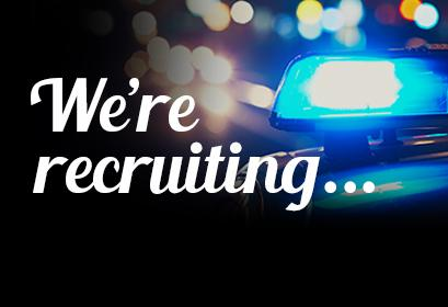 We're recruiting - click here for our current opportunities