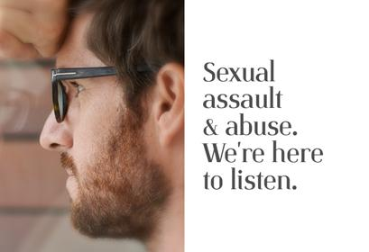 Male Victim Sexual Abuse Campaign