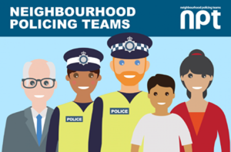 Neighbourhood Policing Team Graphic